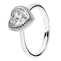 Authentic Pandora Jewelry - Sparkling Love Ring