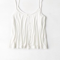 AEO Women's Soft & Sexy Button Front Cami