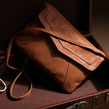 HOT!!!Womens leather envelope shoulder bags ladies small vintage summer handbags crossbody sling messenger bag 2015 designer satchels = 1748266436