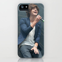 Harry Styles 1 Direction iPhone Case by Karl Wilson Photography