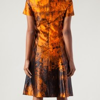 Proenza Schouler Printed Satin Dress - Capitol - Farfetch.com