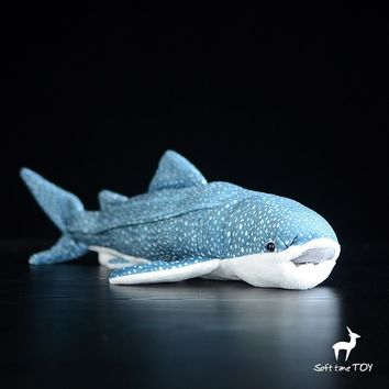 Whale Shark Stuffed Animal Plush Toy 16""