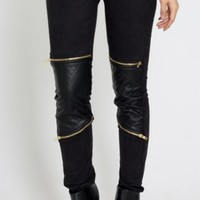 Biker Patch Leggings * Pre Order*