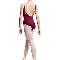 Bloch Tovah Triangle Panel Deep Vee Back Camisole Leotard / Bloch