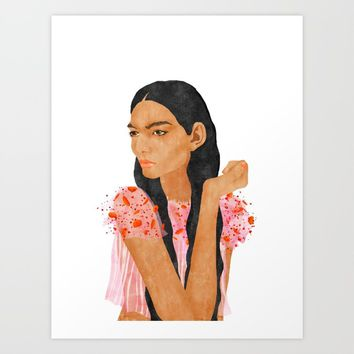 Paloma Art Print by fifikoussout