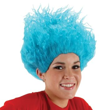 Dr Seuss Thing 1 Thing 2 Wig for Halloween 2017