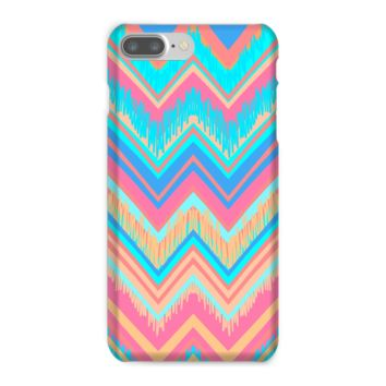 Blue and Pink Chevron Phone Case