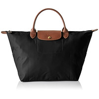 Longchamp Women's Le Pliage Medium Handbag, Black