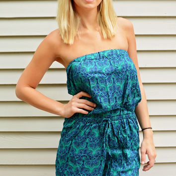 Open Hearted Romper