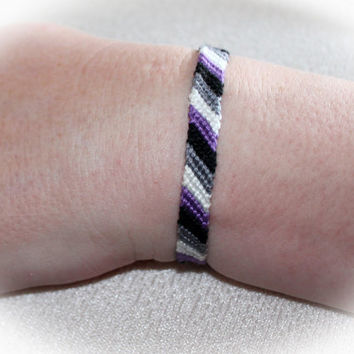 Asexual ACE AVEN Pride Friendship Bracelet #0048