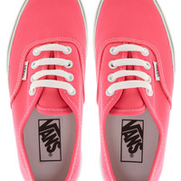 Vans Authentic Neon Lace Up Trainers