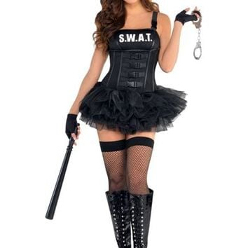 adult hot swat costume party city