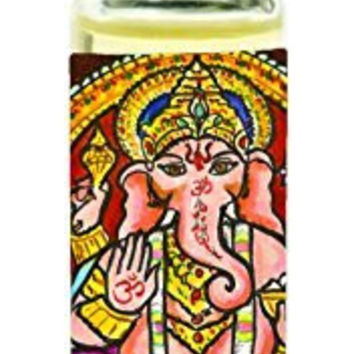 Lord Ganesh God of Intellect Wisdom Roll on Perfume Oil