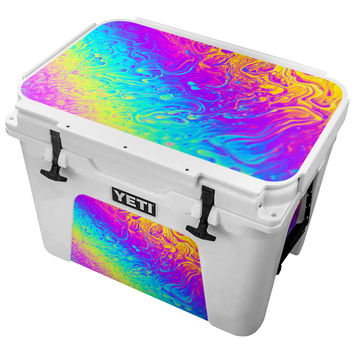 Neon Paint Fusion Skin for the Yeti Tundra Cooler