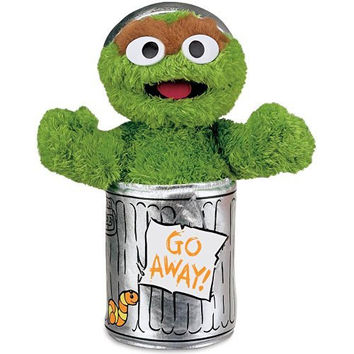 Gund Sesame Street Oscar The Grouch Stuffed Animal