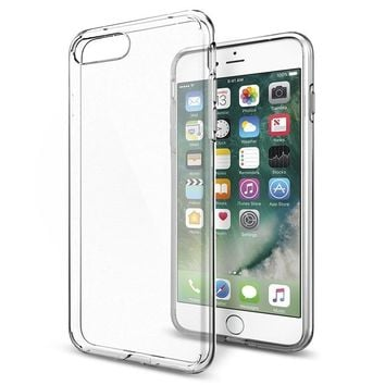 Soft Transparent  Ultra Thin Phone Case for iPhone X 8 7 Plus SE 5 5s 6 6s Plus Case Back Cover TPU Silicone Case