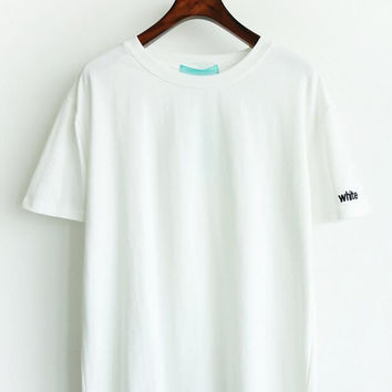 Womens Simple Style T-Shirts