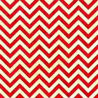 1/2 Yard Quilt Fabric Heart Strings Stripe Red And White Chevron