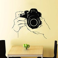 Wall Decals Photo Camera Canon Decal Vinyl Sticker Home Interior Mural Decor Art...