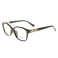 Versace Women Edgy Optical Clear Lens Fashion Brand Designer Eyeglasses Glasses