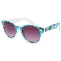 Full Tilt Aqua Tropics Sunglasses Aqua One Size For Women 23691124001