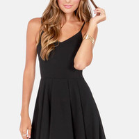 Oh Strap! Black Dress