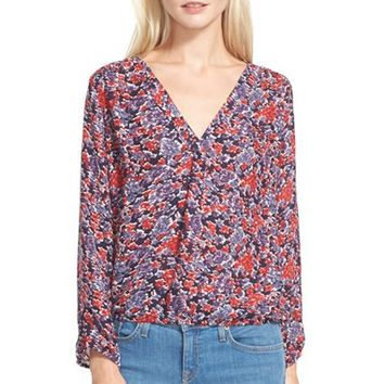 Women's Joie 'Madrina' Floral Print Silk Blouse,