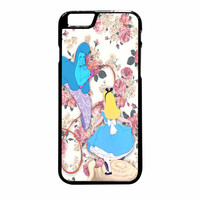 Alice In Wonderland Floral iPhone 6 Plus Case