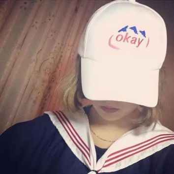 OKAY Embroidered Baseball Cap Hat