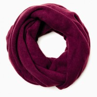 KEEP ME SNUG INFINITY SCARF IN BURGUNDY