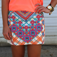 Pretty in Paradise {Skirt}