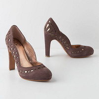 Petal-Scalloped Pumps