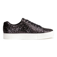 H&M Sequined Sneakers $29.99