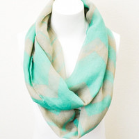 Chevron With a Smile Scarf