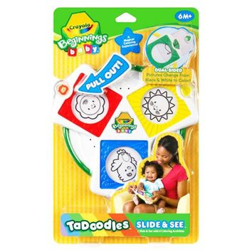Crayola Beginnings Baby TaDoodles Slide & See