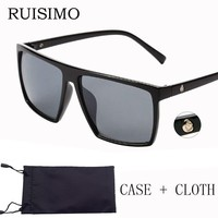 SKULL Square Men Sunglasses / Big Sunglasses