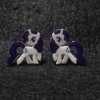 My Little Pony Friendship is Magic Rarity Post Earrings