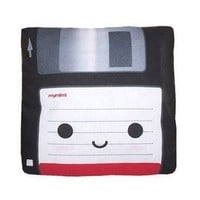 Mini Floppy Disk Pillow