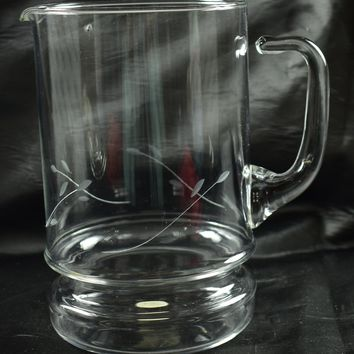 Princess House 488 Crystal Casuals Pitcher