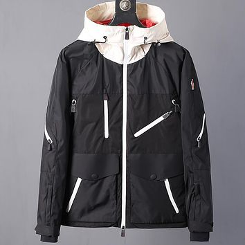 Boys & Men Moncler Casual Edgy Cardigan Jacket Coat Hooded