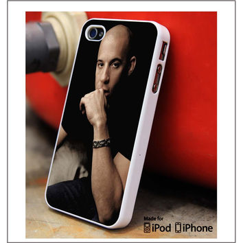 Vin Diesel Actor iPhone 4s iPhone 5 iPhone 5s iPhone 6 case, Galaxy S3 Galaxy S4 Galaxy S5 Note 3 Note 4 case, iPod 4 5 Case