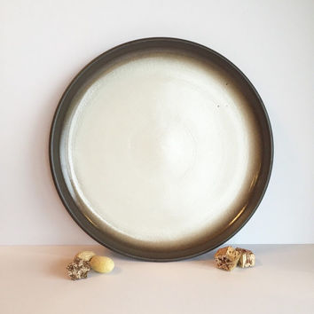 Vintage Heath Ceramics Chop Platter in Beachstone Coupe
