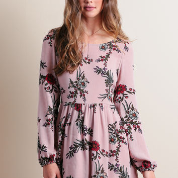 Worked Like A Charm Floral Dress