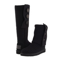 UGG Classic Cardy Black - Zappos.com Free Shipping BOTH Ways