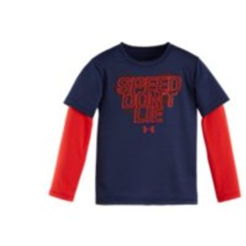 Under Armour Boys' Pre-School UA Speed Don't Lie Slider