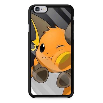 Pokemon Pikachu Evolution iPhone 6/6S Case