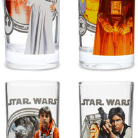 Star Wars 10 oz. 4 Pack Glass Set
