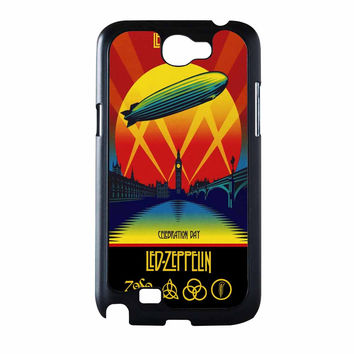 Led Zeppelin Poster Samsung Galaxy Note 2 Case