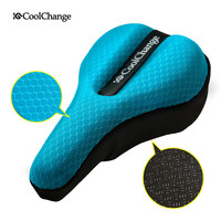 CoolChange  Cycling in the back seat cushion cover thick sponge mountain bike road bike seat bicycle equipment accessories