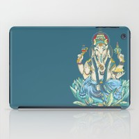 Ganesh  iPad Case by Kristy Patterson Design